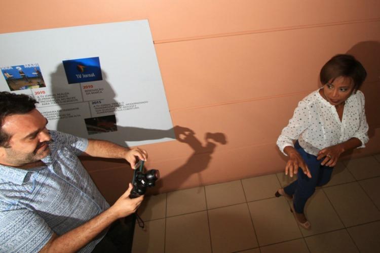 Foto: Fernando da Hora/JC Imagem  Data: 01-11-2016 Assunto: JC 360 - Making of do vídeo institucional da TV Jornal, gravado nas dependencias do SJCC Palavra-chave: ##